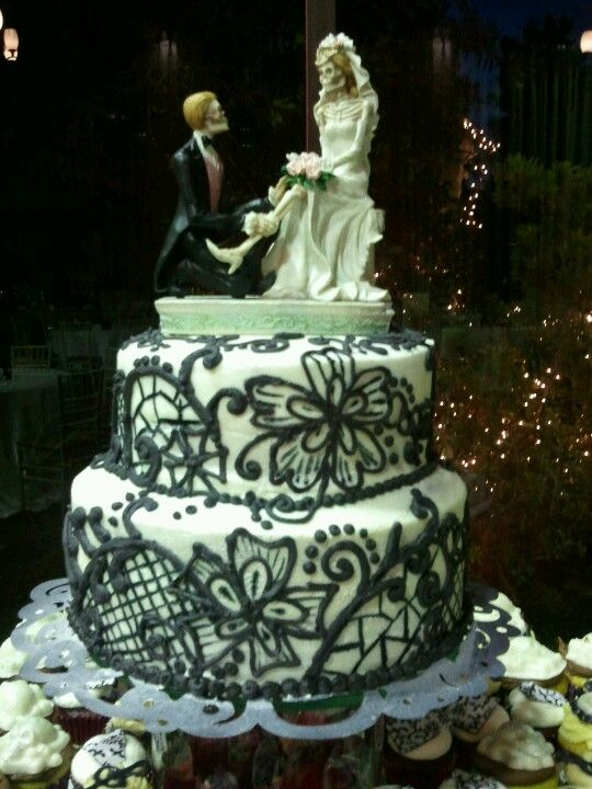 Till Do Us Part Wedding Cake