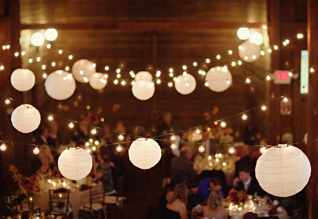 Mini paper lantern string lights - Large White Paper Lantern String Lights Realrun Home Blog