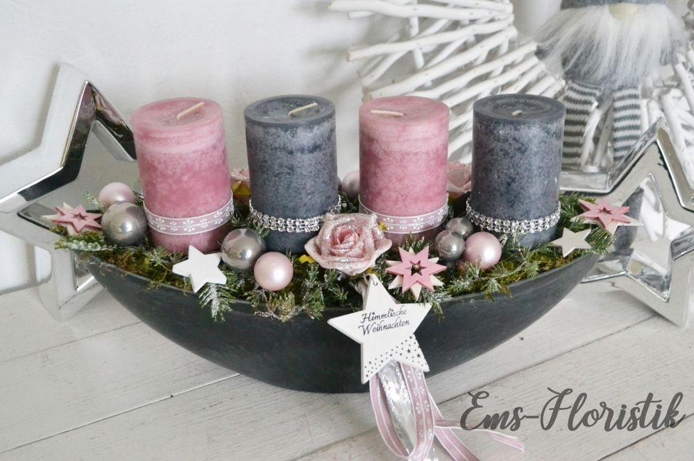 Die Kerzen Wurden Mit Deko Und Strassband Umbunden Dekoriert Mit