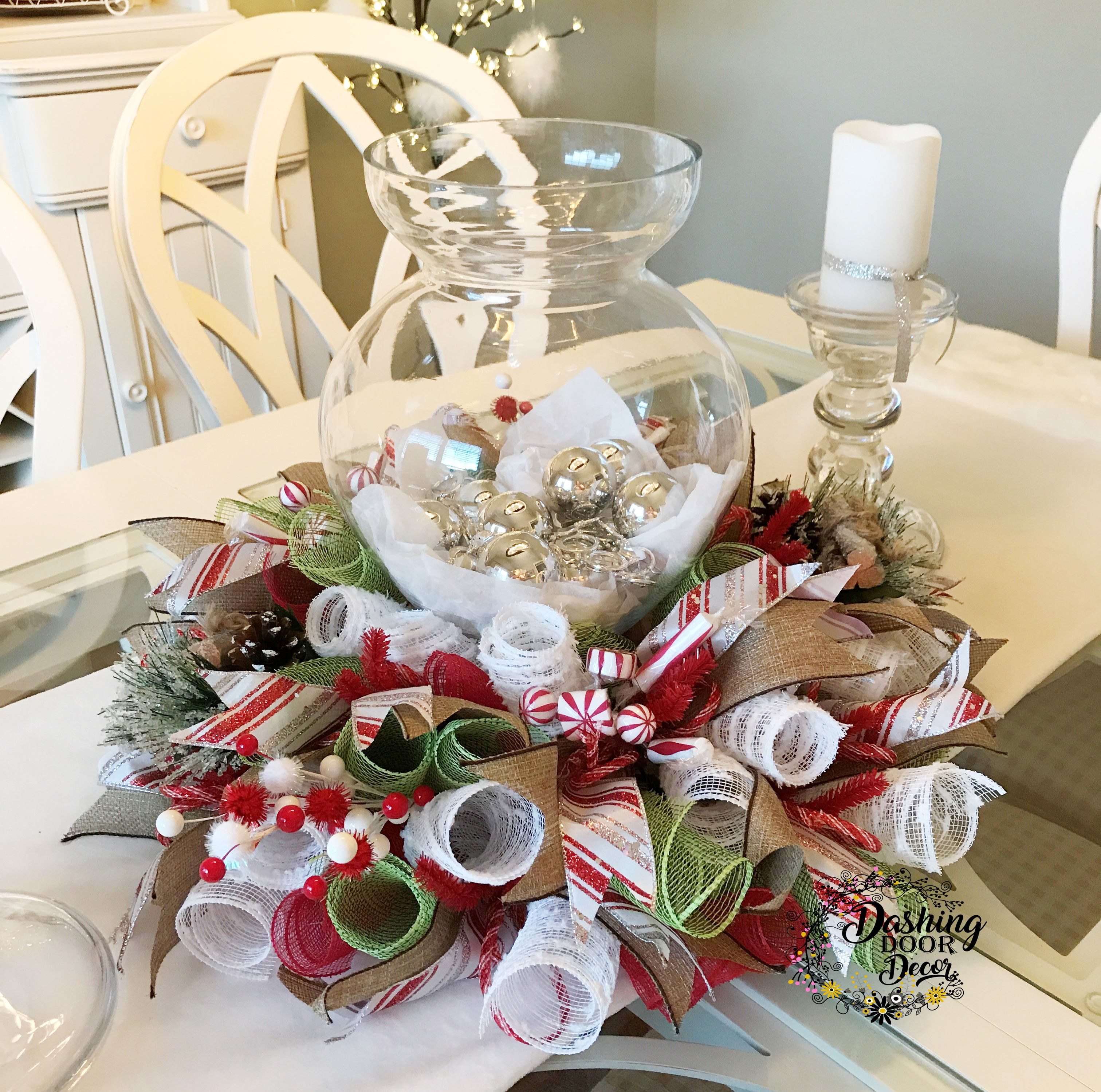peppermint christmas table decorations year of clean water rh yearofcleanwater org