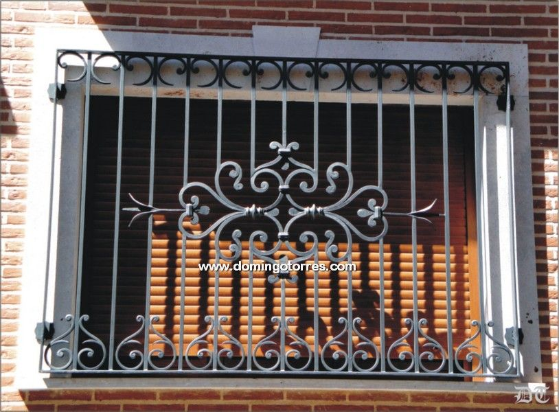 Image result for rejas para ventanas en hierro forjado welding window grill window grill - Rejas hierro forjado ...