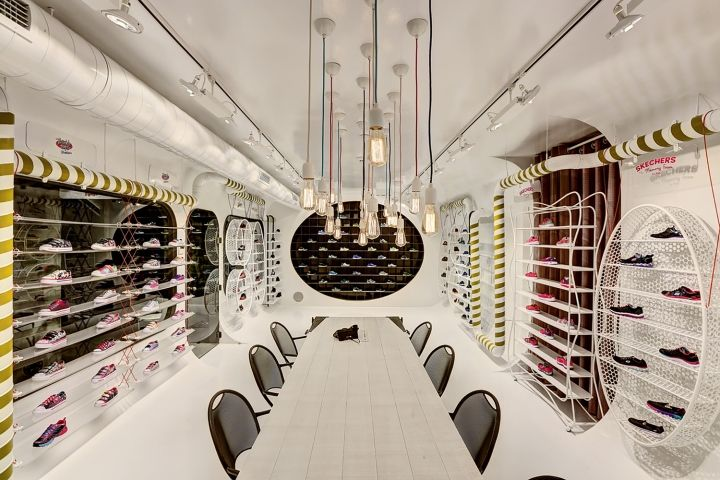 Skechers TR - Enfants Showroom par zemberek design, Istanbul - Turquie »Retail Design Blog