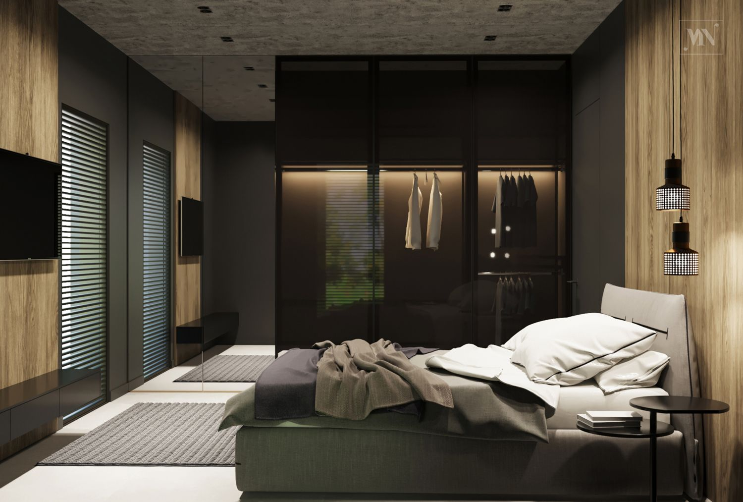 Interior Design House 120 m2Menu0027s Bedroom Design