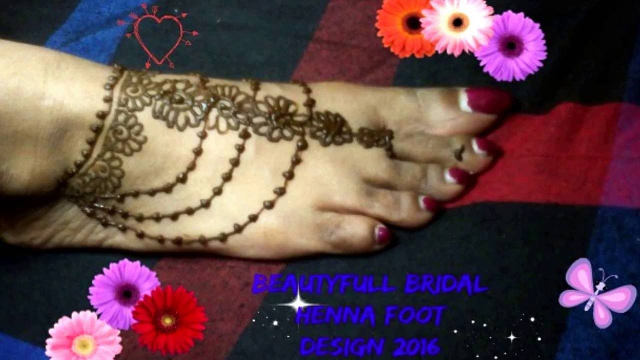 2017 01 small tattoo designs for women on foot - Simple Foot Mehndi Henna Design For Beginners Beauty Subash