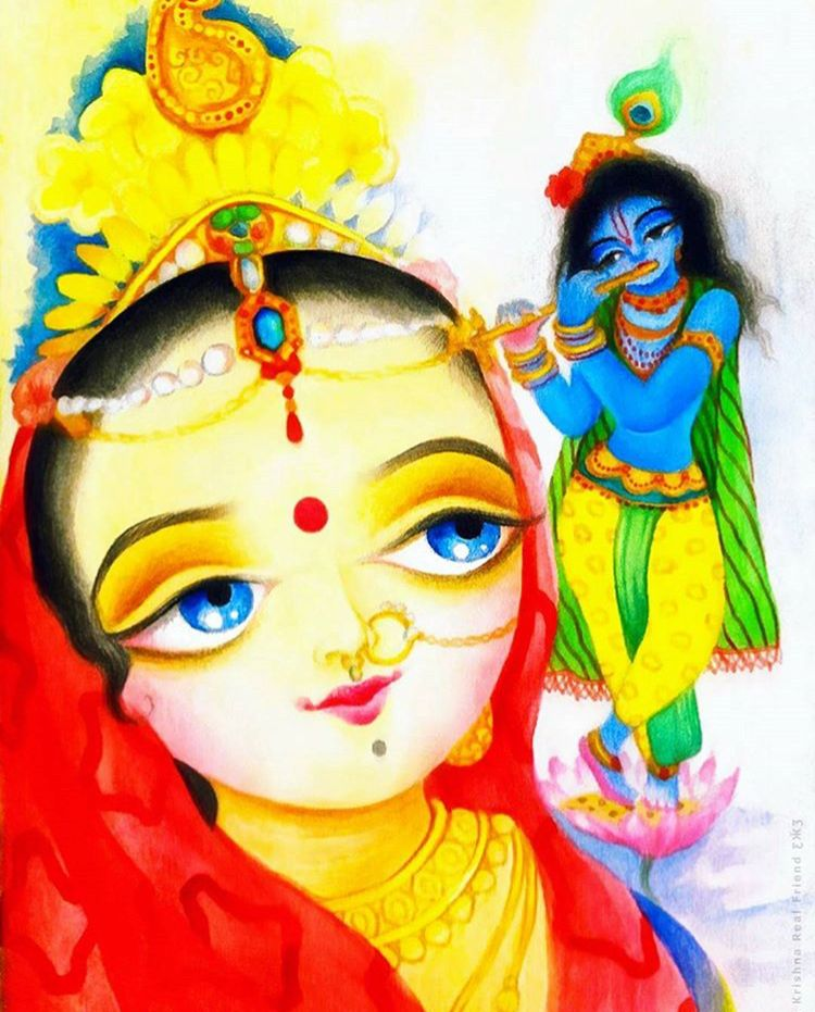 krishna painting sweet lord cute paintings radhe krishna lord krishna cute drawings