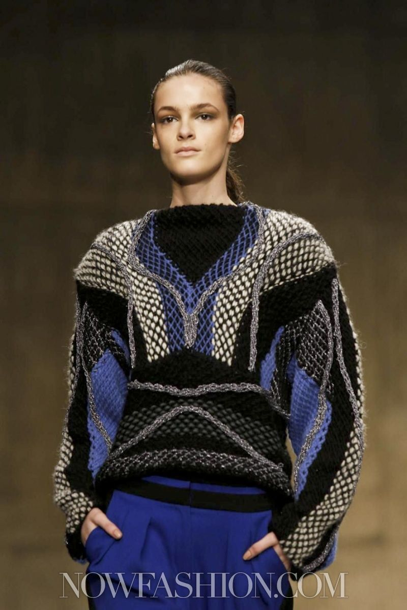 //Peter Pilotto Ready To Wear Fall Winter 2013 London
