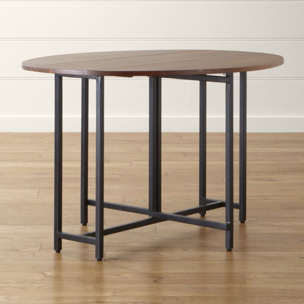 origami drop leaf oval dining table - crate and barrel | kisten, Esstisch ideennn