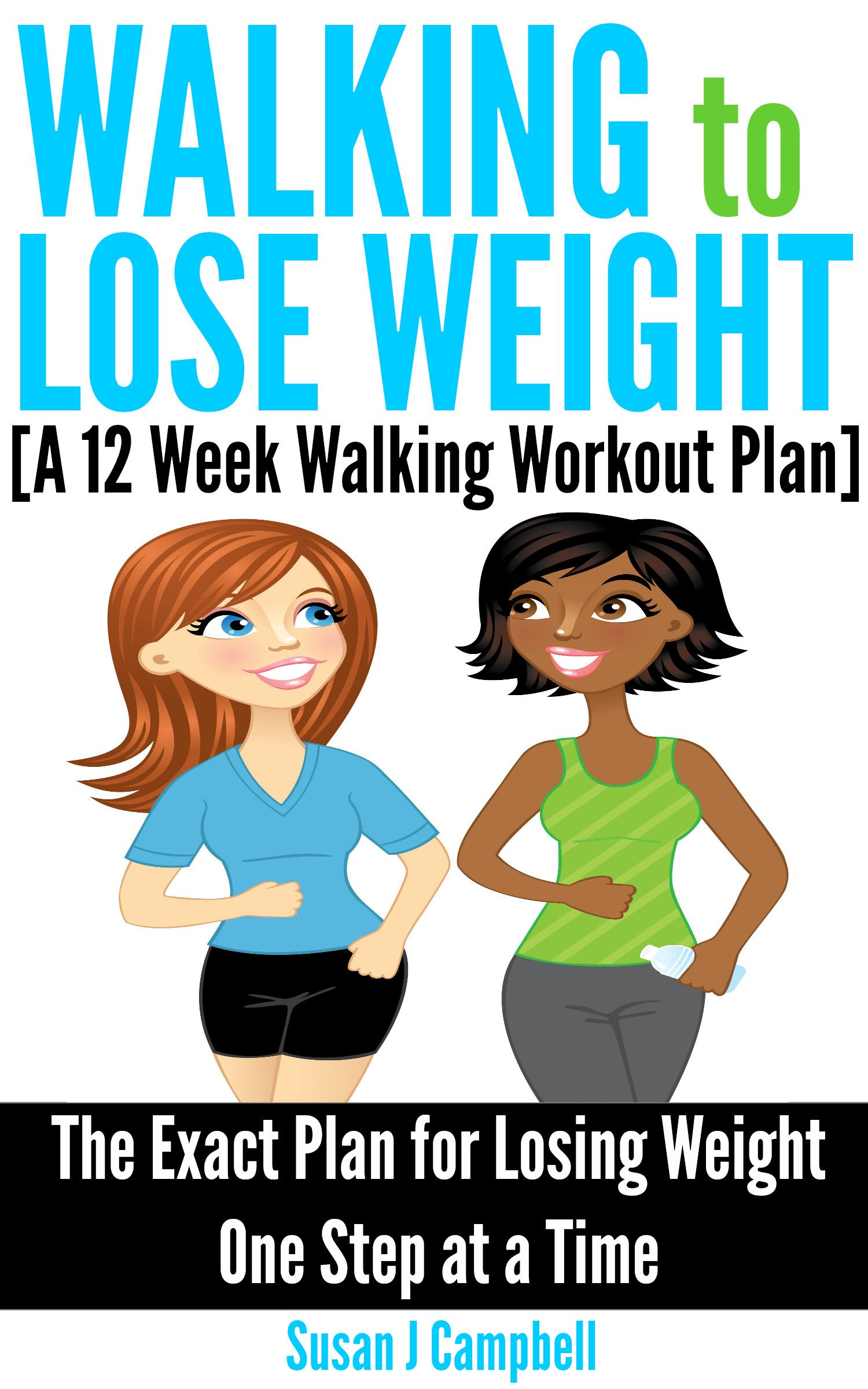 New Kindle Ebook Walking To Lose Weight A 12 Week