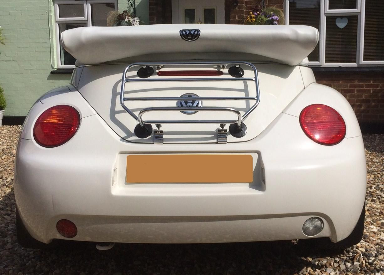 The Classic Hex Luggage Carrier Vw Beetle Convertible
