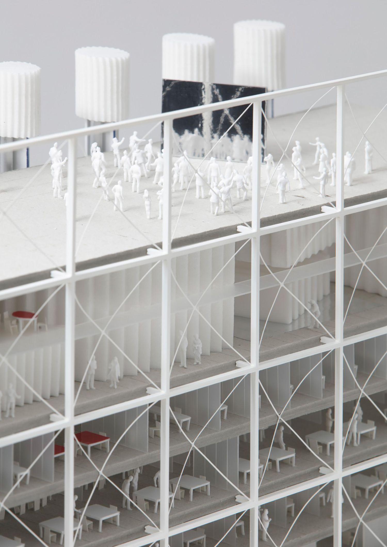 Maison Des Medias Baukunst Bruther Atlas Of Places Bruther Architecture Maison Amenagement Urbain