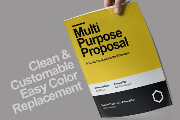 Murni Proposal Template By Sehat Co On Creative Market Proposals