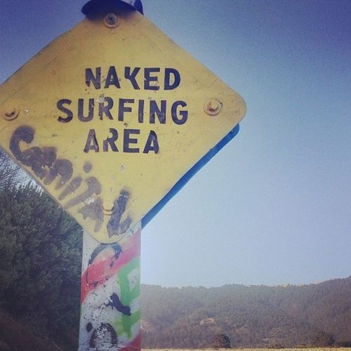 Naked Surfing Area
