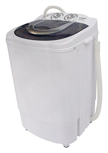 Useful UHCW204 SemiAutomatic Electric Small Mini Portable Compact Washer  Washing Machine With Spin Dry 85 LB Capacity *** You Can Find More Details  By ...
