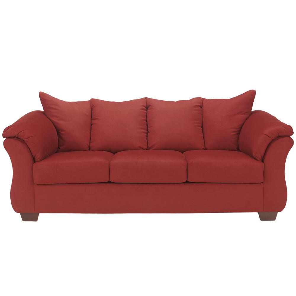 signature design by ashley darcy salsa fabric sofa products sofa rh pinterest co uk