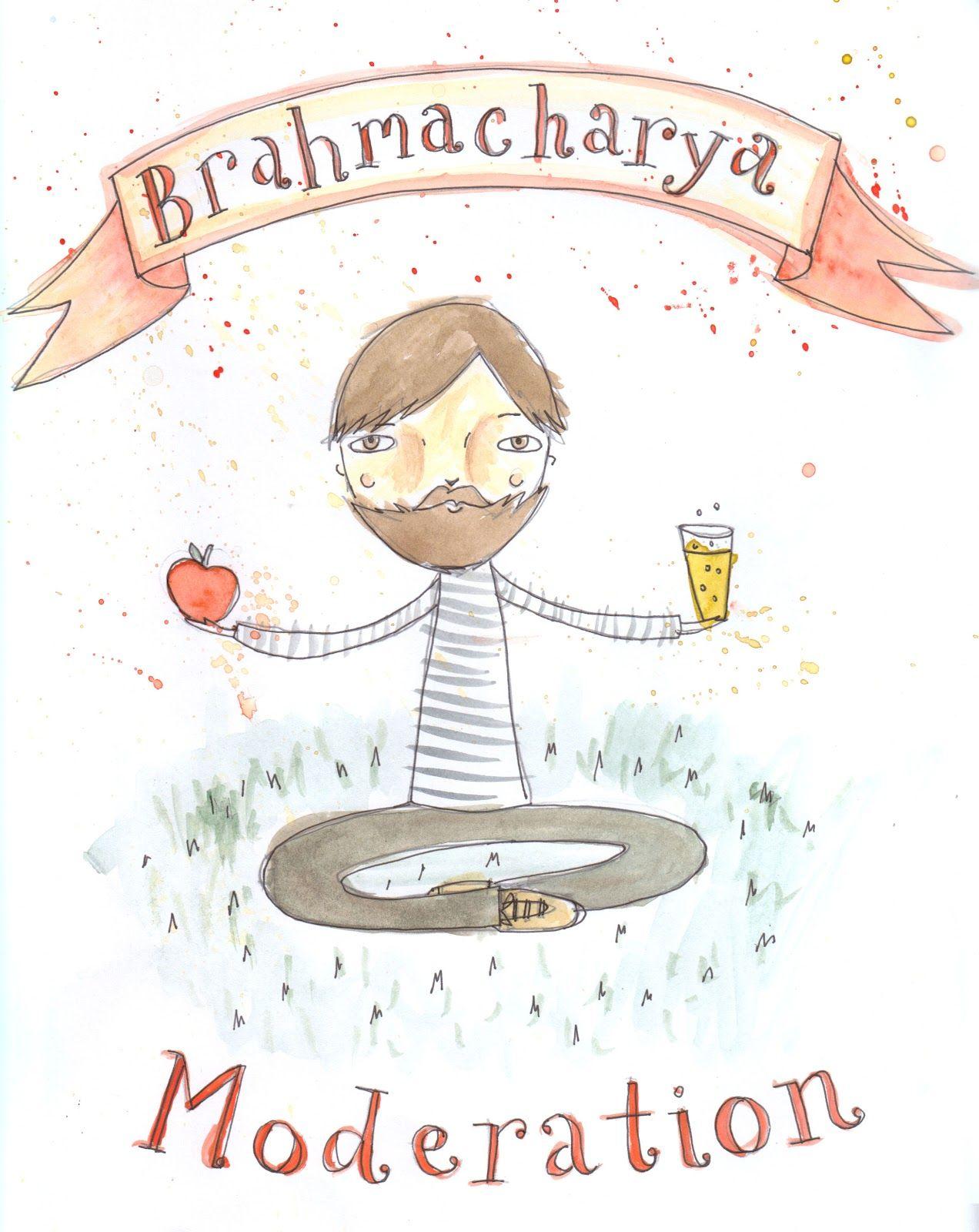 Yama 4 Brahmacharya Yoga Sutras Yamas And Niyamas Yoga Art