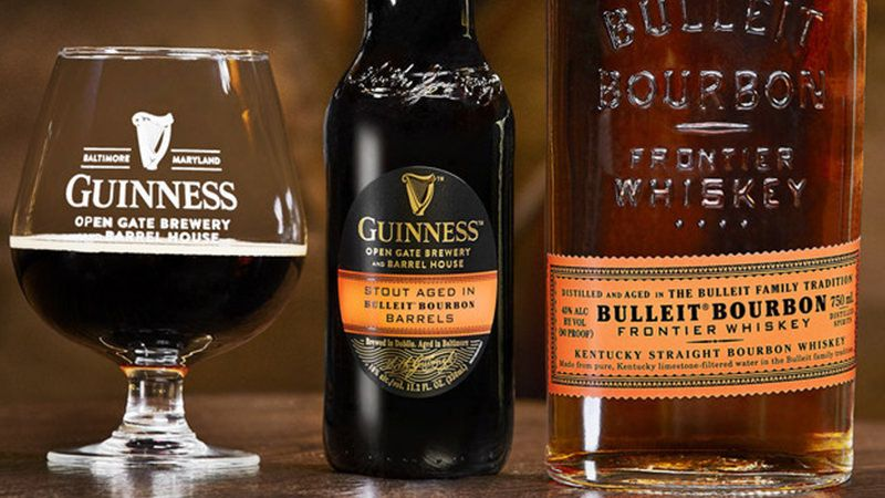 guinness releases its first ever barrel aged stout in 2018 wine rh pinterest com