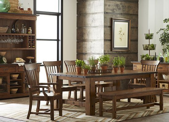 hanover dream home decor dining dinning room tables bench rh pinterest com