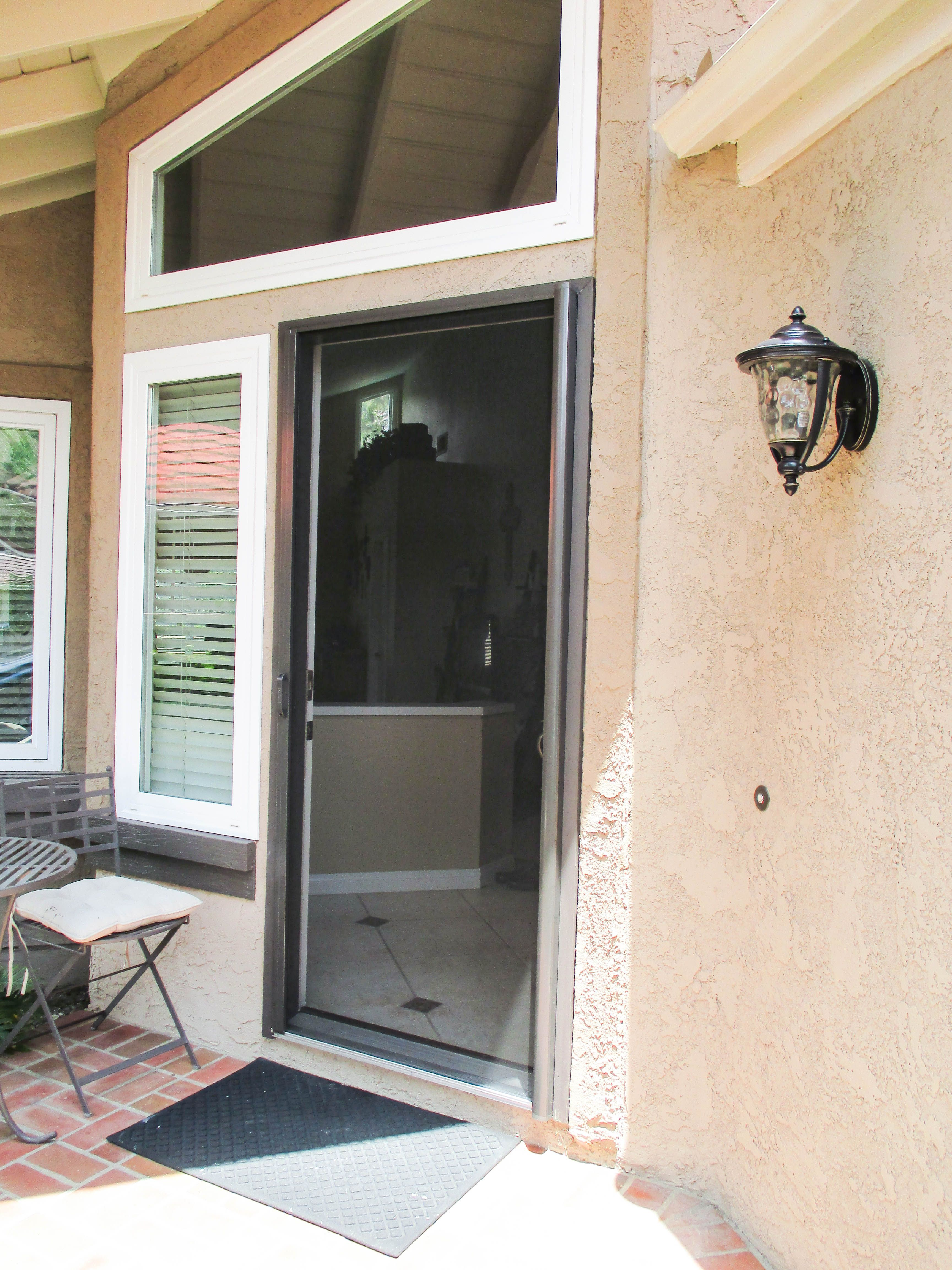check out this single front door stowaway retractable screen door rh pinterest com