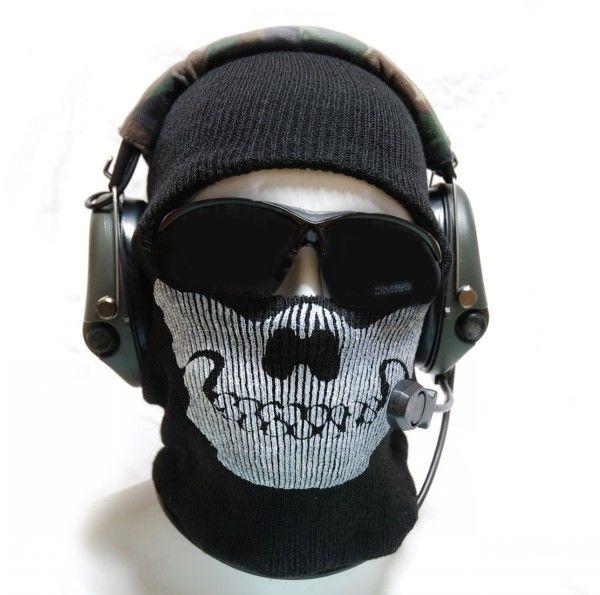 Call Of Duty 10 Cod Ghosts Logan Balaclava Ski Skull Hood: Call Of Duty Ghost Cool Mask Black