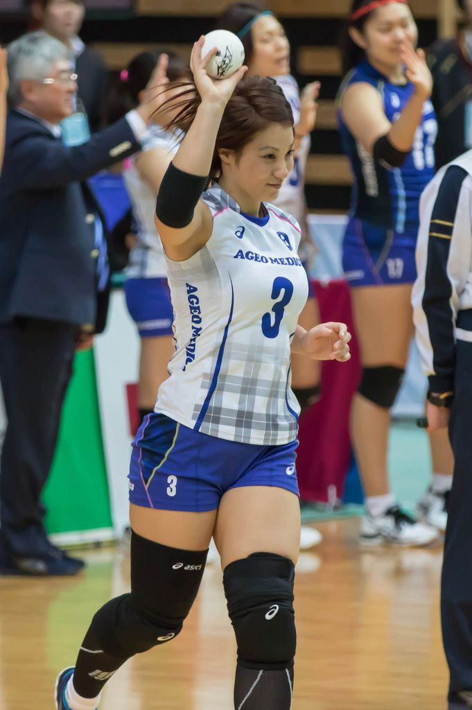 from Ben nude women volleyball japan