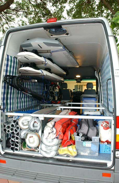 Http Www Steynfamily Com Images Ultimate Windsurfing Van Fully Loaded Jpg Windsurfing Surfing Surfboard Storage