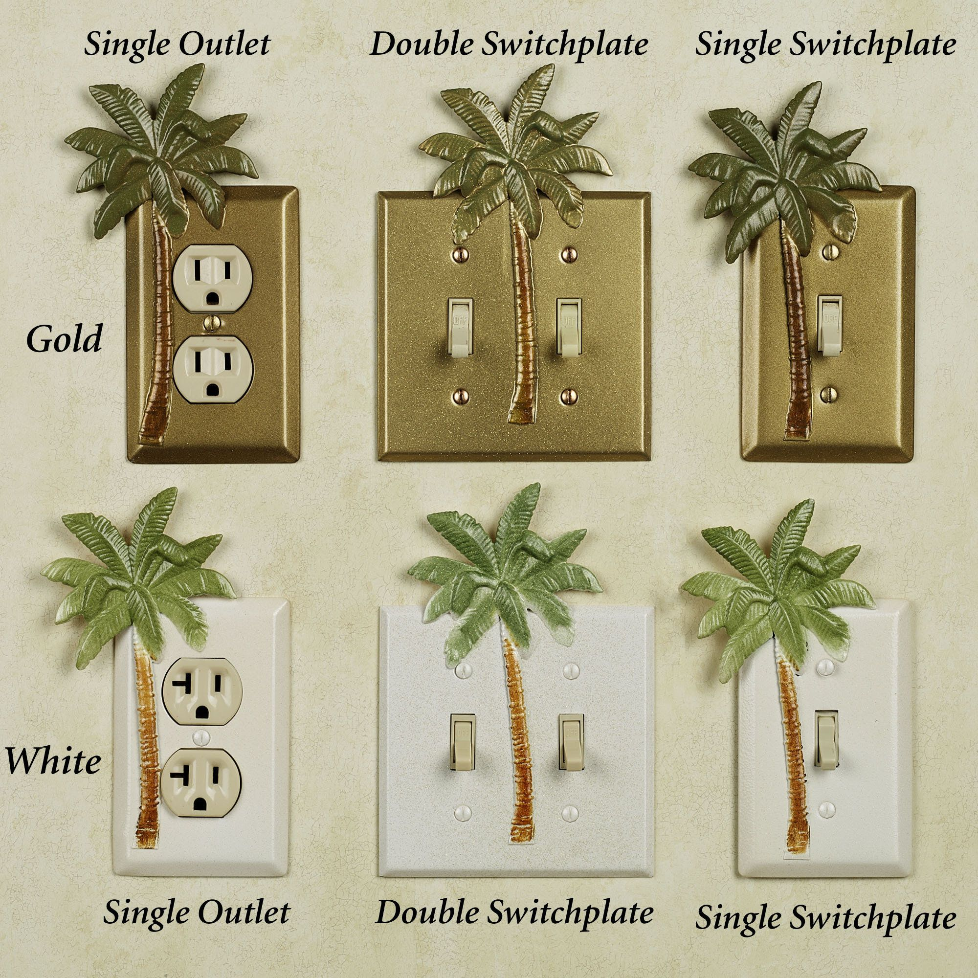 Bathroom decor palm tree tropical theme tropical for Tropical themed kitchen