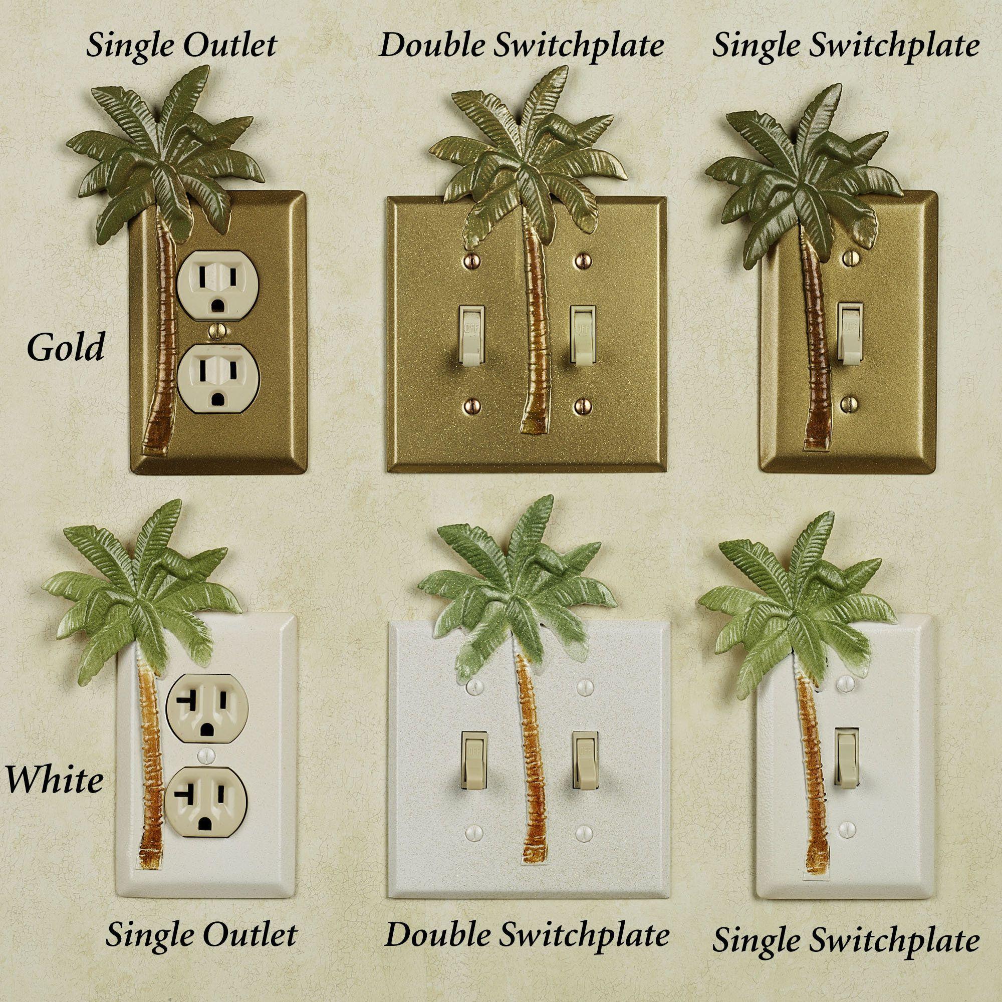 Bathroom Decor Palm Tree Tropical Theme Palm Tree Bathroom