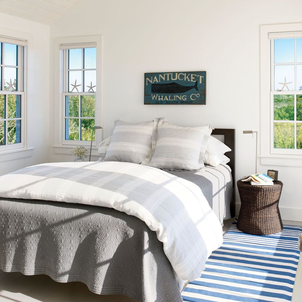 Master Bedroom A 1000 square foot beach house