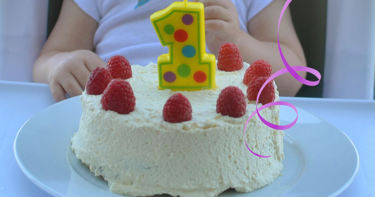 This Birthday Cake Is Perfect For A First Birthday Sweetened With