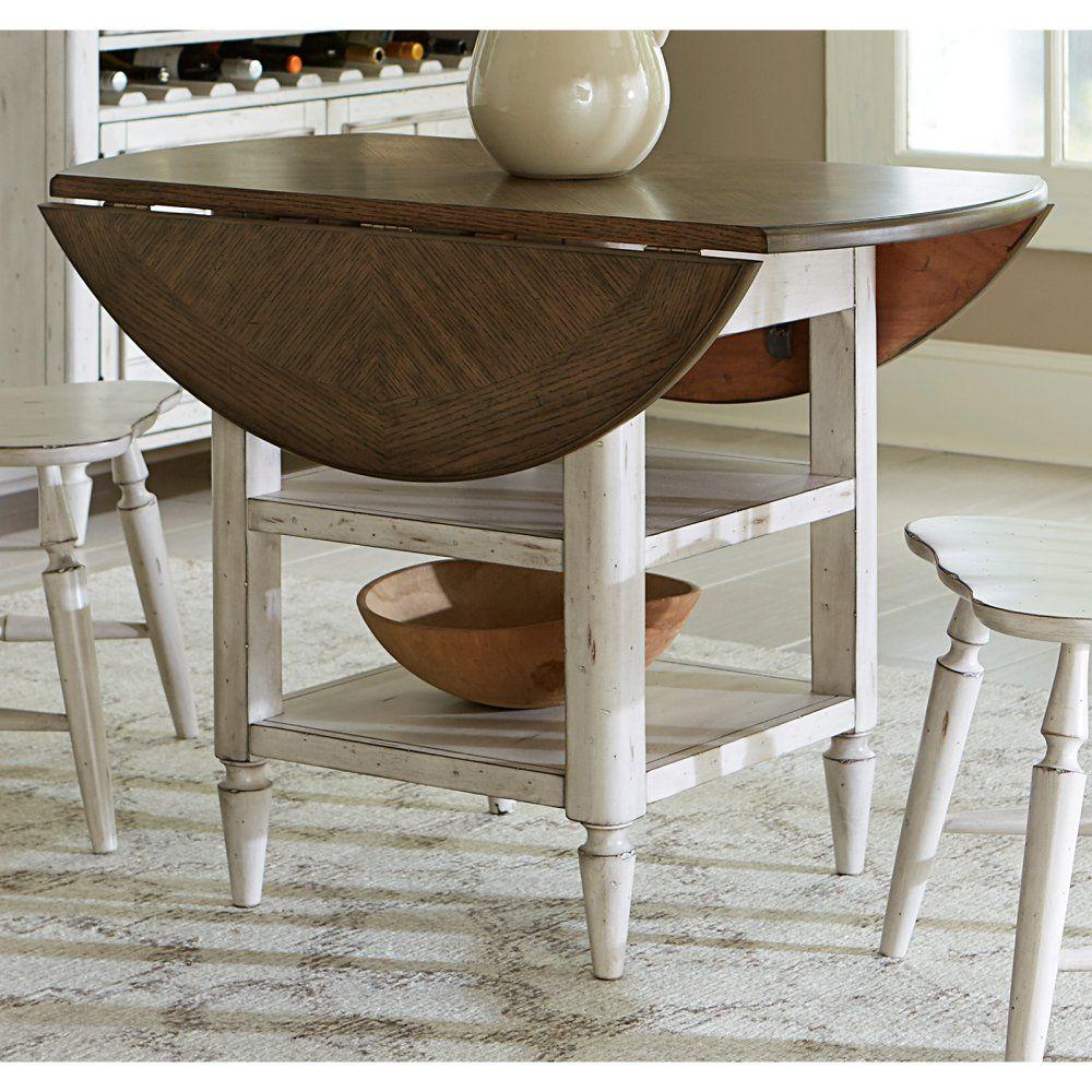 liberty furniture oak hill drop leaf dining table penny s update rh pinterest com