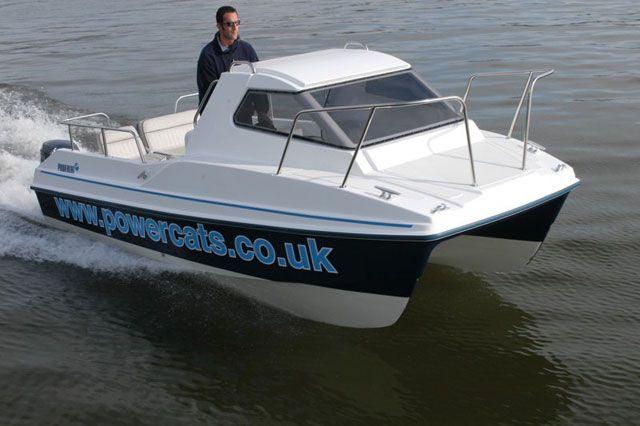 Power Catamaran Small Boat Paddle Board Power