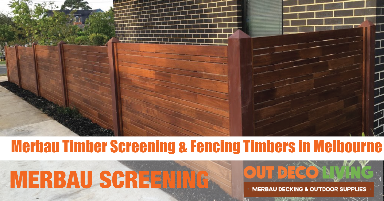 Merbau Fencing Panels and Timbers Fencing Melbourne