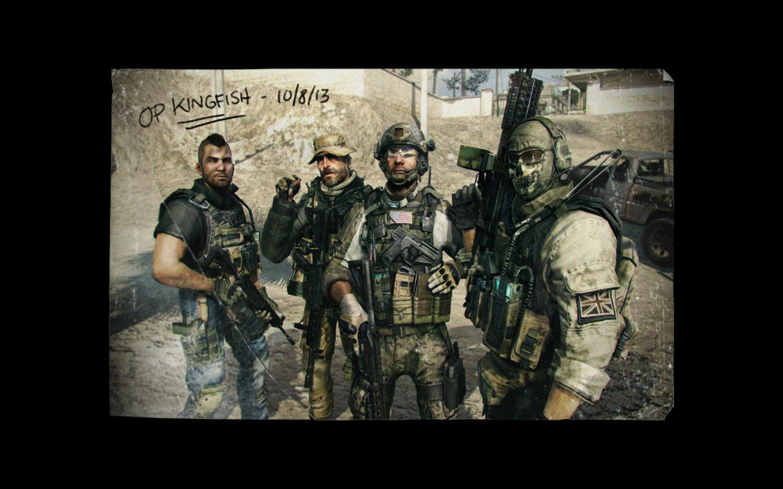 Op Kingfish 10 8 13 Modern Warfare Call Of Duty Graphic Wallpaper