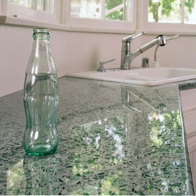 want recycled glass turned into counter tops for the kitchen coke rh pinterest com