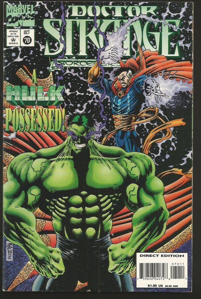 Doctor Strange #70 VF/NM The Sorcerer Supreme Marvel Comics 1994 HULK Possessed
