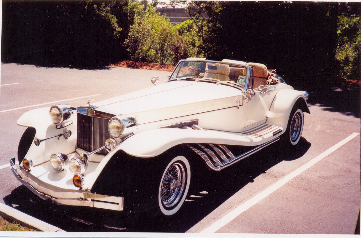 classic vintage, 1952 Jaguar restored and customized for