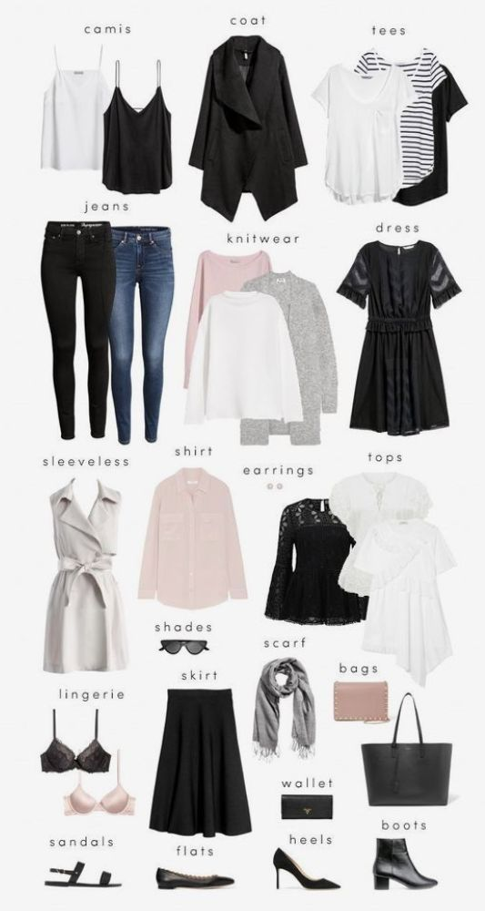 How to Create a Minimalist Capsule Wardrobe by cornelia #travelwardrobesummer