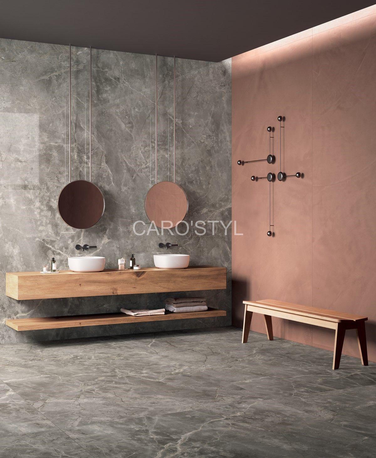carrelage tendance effet marbre aux grands formats. Black Bedroom Furniture Sets. Home Design Ideas
