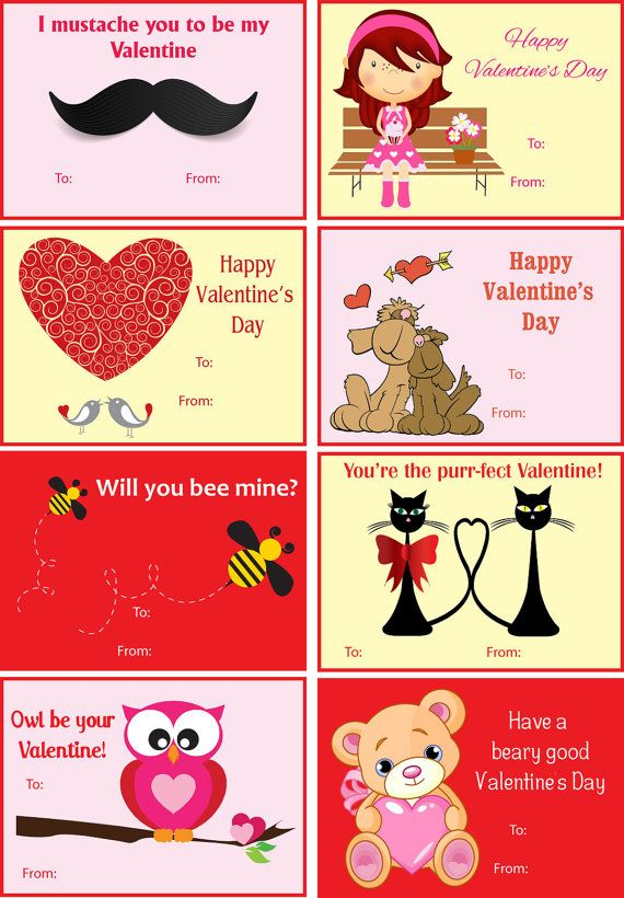 Satisfactory image inside funny printable valentines