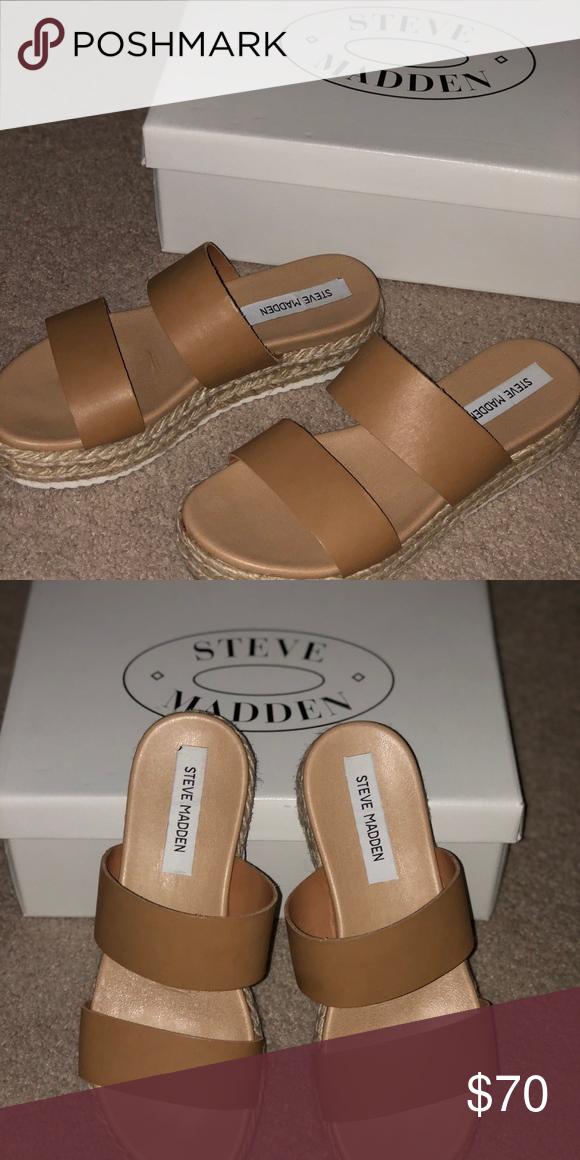 c808dfccbe2 Steve Madden Amaze sandals! Steve Madden flatform sandals! Brand new ...