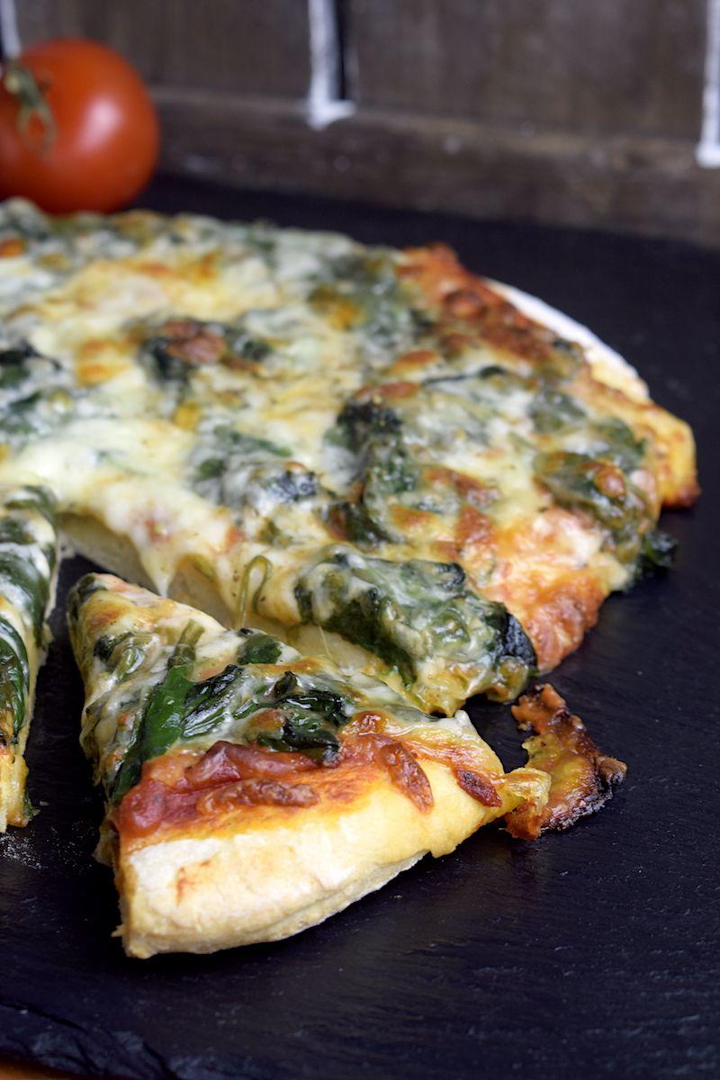 Spinat-Pizza aus dem Thermomix - mein ZauberTopf