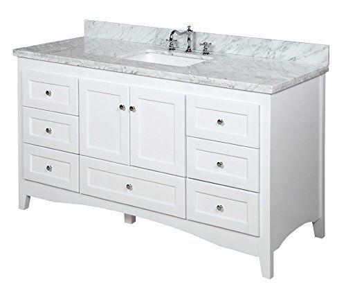 abbey 60 inch single bathroom vanity