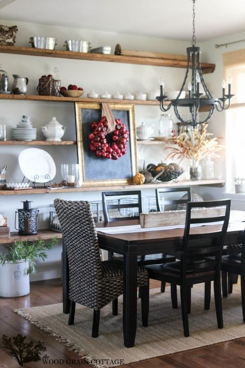 fall home tour part three home dining room storage dining room rh pinterest com