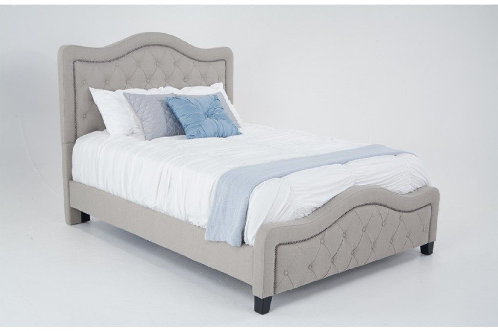 troy upholstered queen bed beds headboards bedroom bob s rh pinterest it