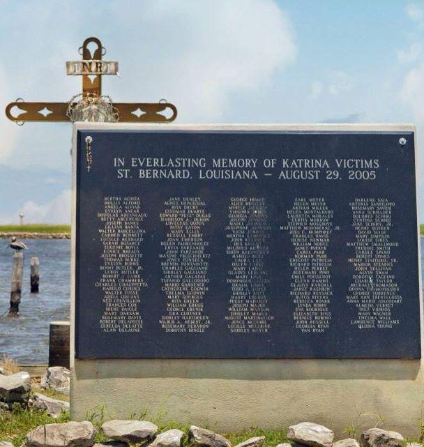 St Bernard Katrina Memorial Hurricane Storm Katrina Hurricane Katrina