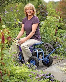 Lovely Garden Scoot   Rolling Garden Seat