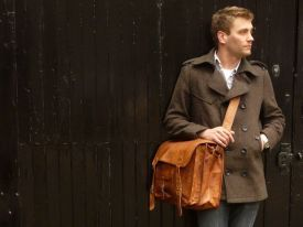 Medium Overlander Leather Satchel 16 Inch - Scaramanga  3fc319479b0e3