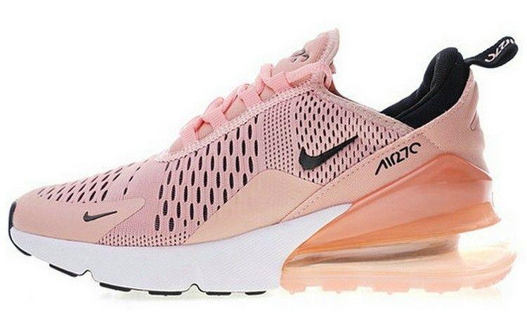 buy online 7eda9 0f898 Nike Air Max 270 Chaussures Coral Stardust Noir Summit Blanc Ah6789 600