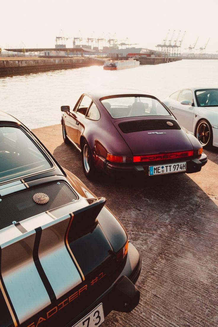 Meeting Up With The Roughneck Brigade For A Porsche Cruise Through Hamburg