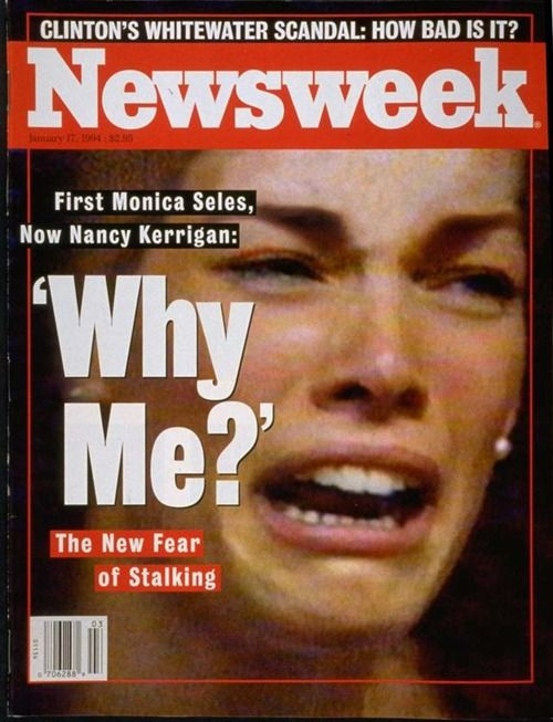 0a8b8ae3a062ac0a33526c8238210159 newsweek, jan 17, 1994 nancy kerrigan was attacked at the us